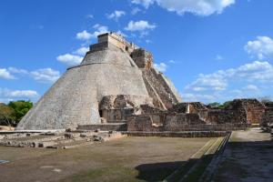 Uxmal Maya ruins in Mexico