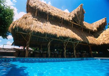 Enjoy  a dip in the pool under the warm Mexico sun