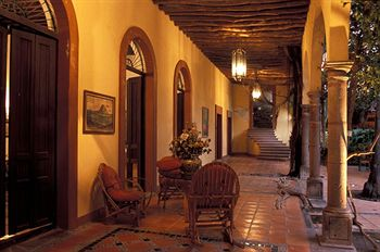 Hotel Posada del Hidalgo is full of colonial charm