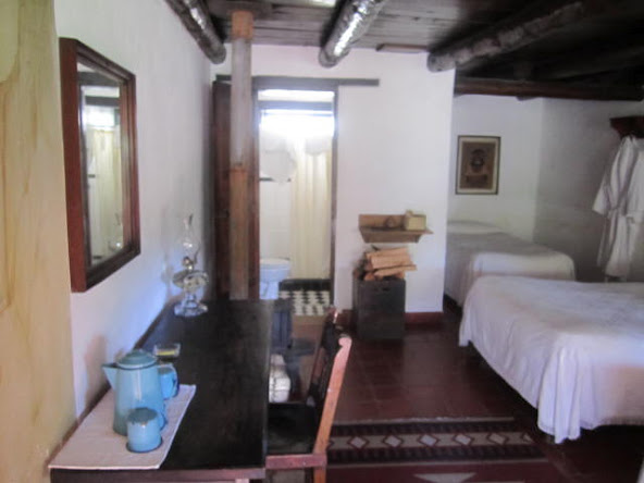Rooms have fireplaces and modern tiled bath facilities