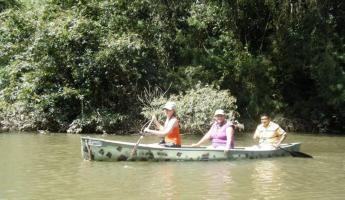 Canoeing the Macal