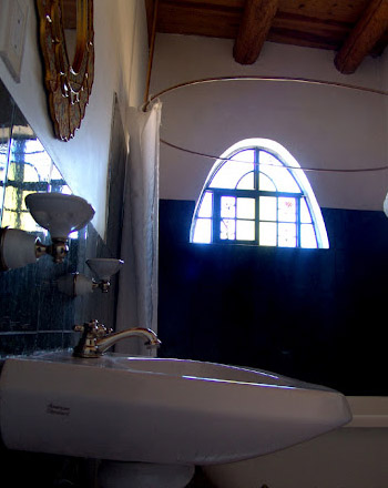 Private bath facilities are equipped with every amenity