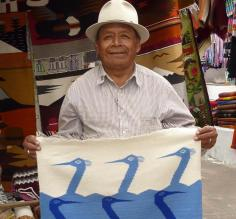 A local man in Quito