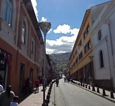 Exploring Quito on our way to the Galapagos!