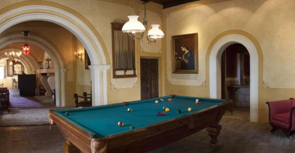 Enjoy a game of pool and refreshments in the Salon Bar