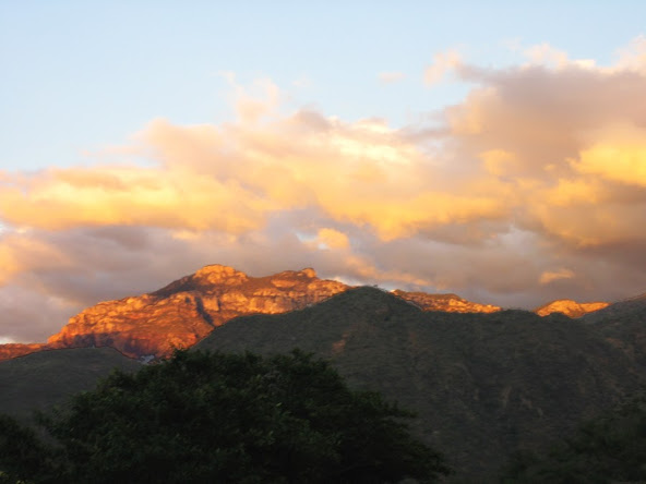 Copper Canyon at sunset