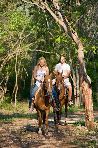 Wander the trails on foot or by horseback