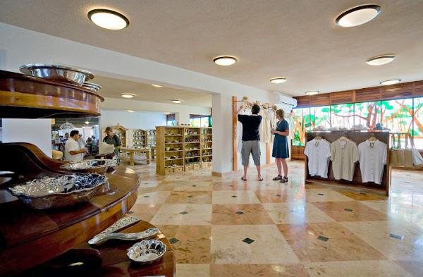 The gift shop features local and regional hand crafted items