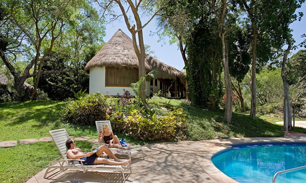 The Lodge at Chichen Itza is an extension of the landscape