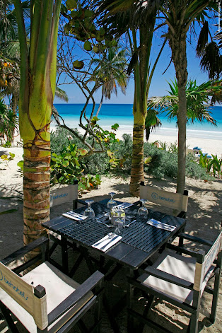 Dine with the sounds of the ocean filling your senses
