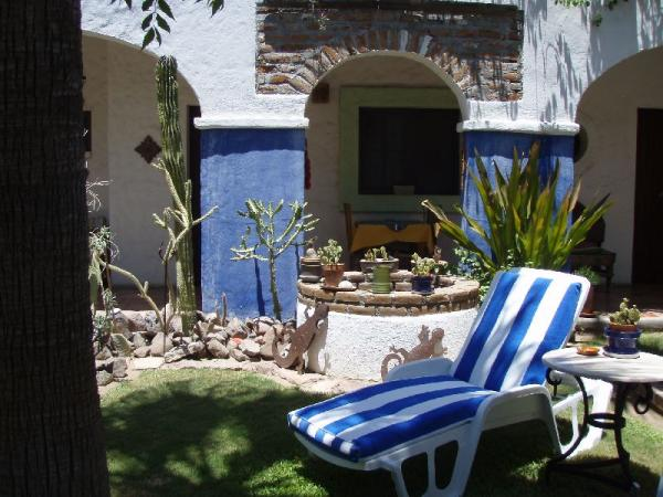 Experience La Paz from the serenity of El Angel Azul
