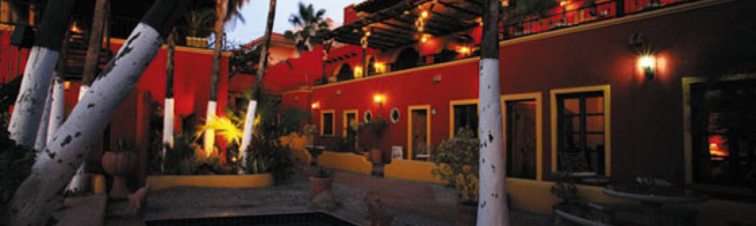 Enjoy a stay at Posada de Las Flores on your next trip to La Paz, Mexico