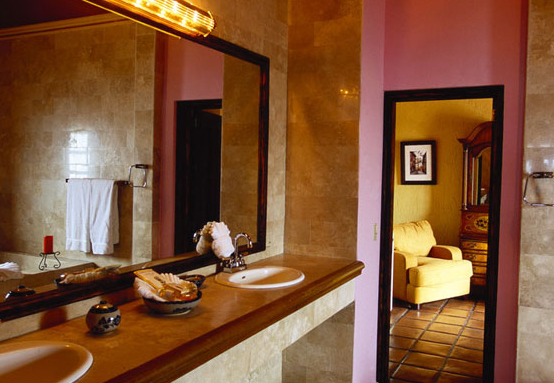Rooms are equipped with private ensuite bath facilities