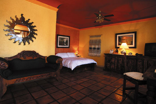 Spacious rooms offer discerning travelers the finest in accommodation