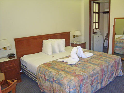 Stanrdard rooms are furnished with every amenity
