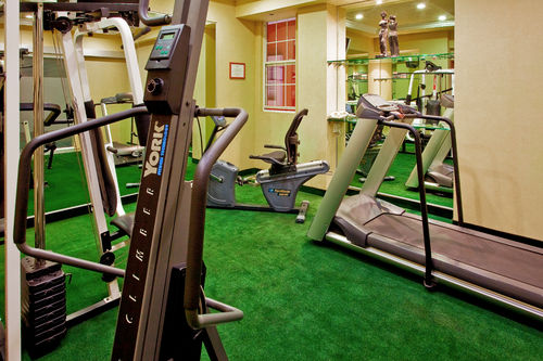 On-site health and fitness center