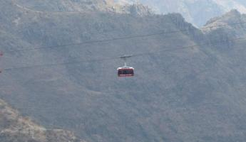 Copper Canyon cable car