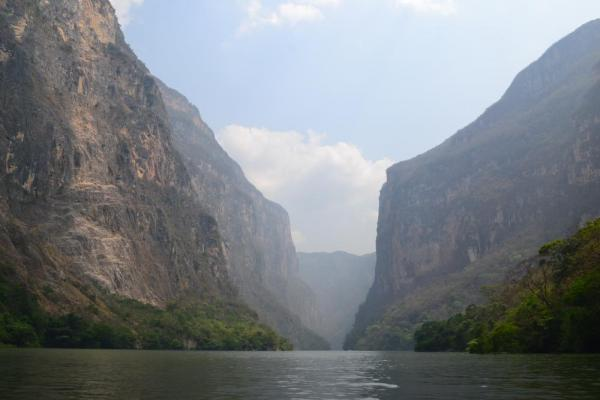 A view of the amazing Sumidero Canyon.