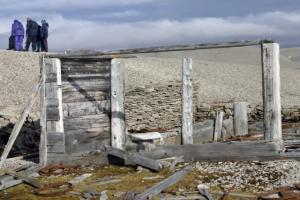 Reminders of past communities are scattered througout the Arctic region