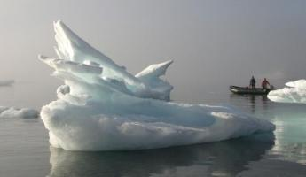 Explore the mysterious polar waters by zodiac with your fellow travelers