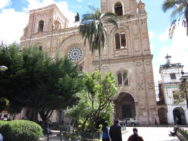 Main Plaza in Cuenca