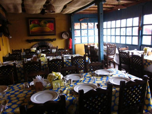 Dining room at El Porvenir