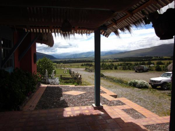 View from Hacienda El Porvenir