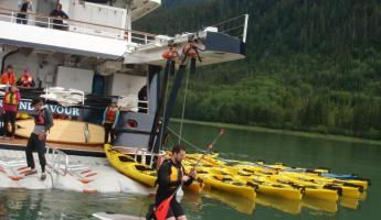 A wide variety of activities await in Alaska. Paddle board