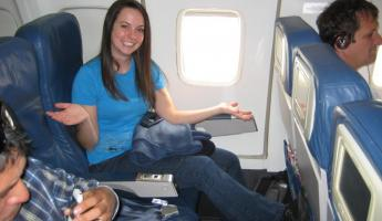 Exit row!! We're off to Ecuador!