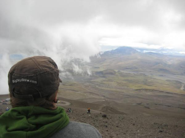 View from the hike, Cotopaxi Volcano