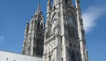 Gothic Cathedral in Quito