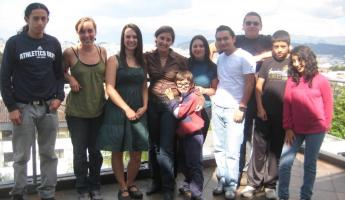 My Ecuadorian family!