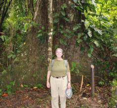 Hiking through Belize