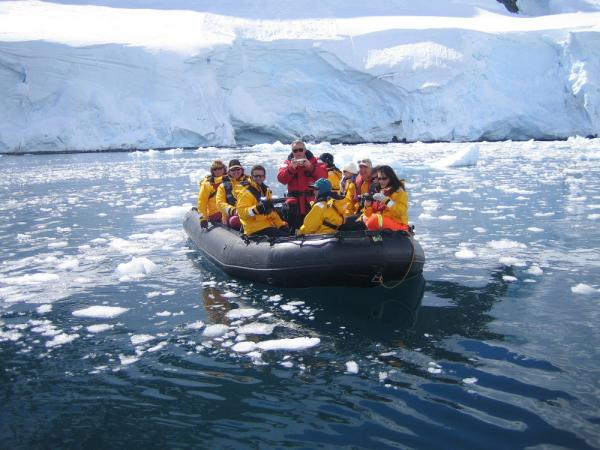 Zodiac excursion in the Antarctic Penisula