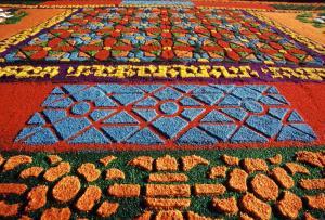 Carpets of Semana Santa - Antigua, Guatemala Easter Festival
