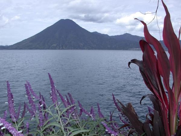 A beautiful day around Lake Atitlan, Guatemala