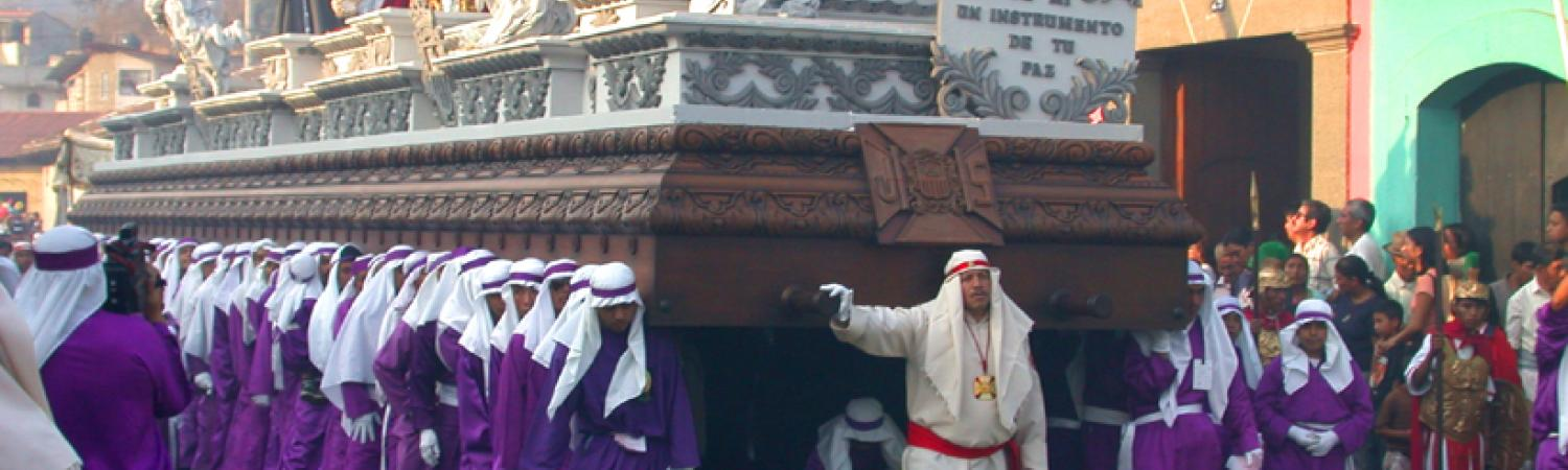 Easter Processions in Antigua