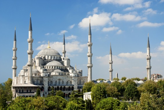 The Blue Mosque of Turkey, Istanbul