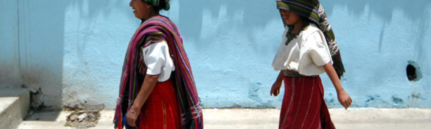 Daily tasks for Maya women in Guatemala