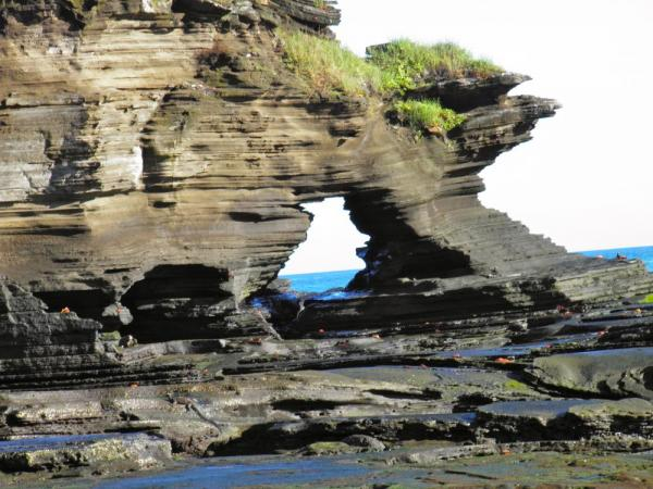 Rock formations on Isabela