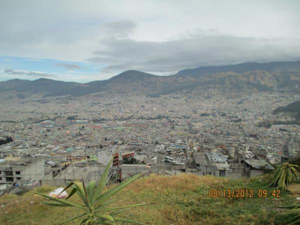 Day one we are leaving Quito...such a massive city.