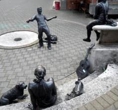 Sculptures at the University of Costa Rica