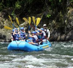 White Water Rafting on the Pacuare River in Costa Rica
