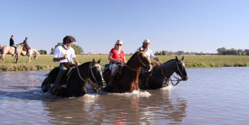 Explore the 300 hectare estancia via horseback accompanied by seasoned gauchos