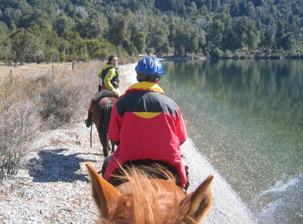 Explore the pristine location via horseback