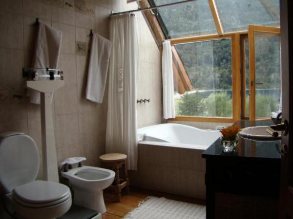 Sophisticated amenities mingle with rustic Patagonian nature