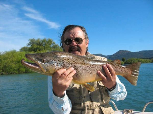 Enjoy a stay at Challhuaquen Lodge, a great fly-fishing retreat