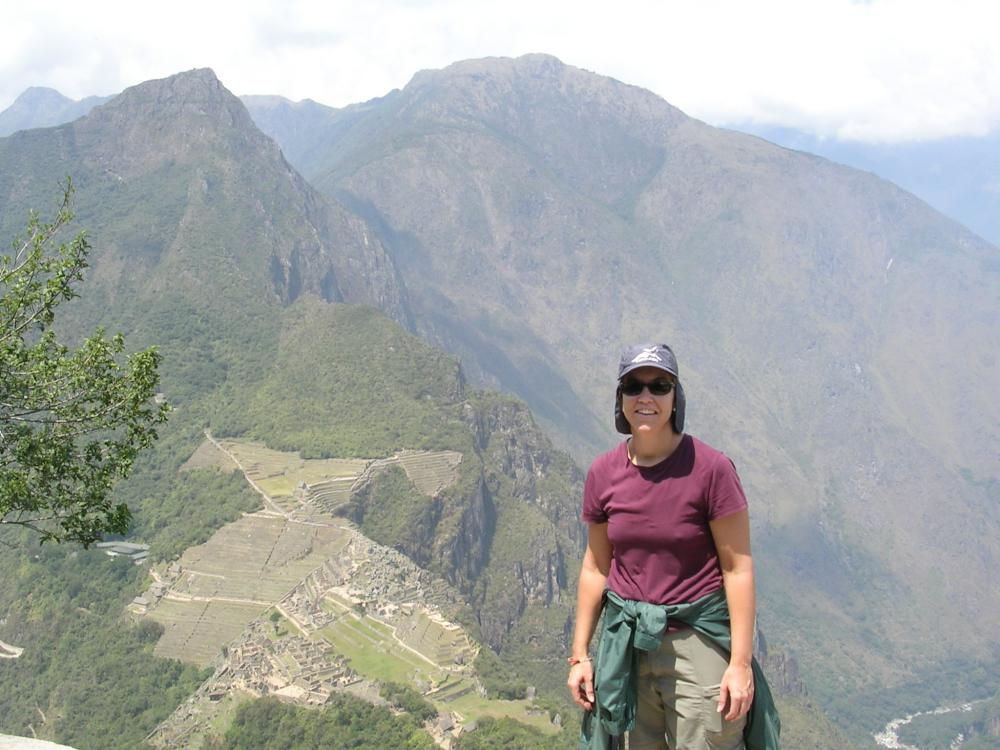 Huana Picchu peak!  I did it.  And you should too.
