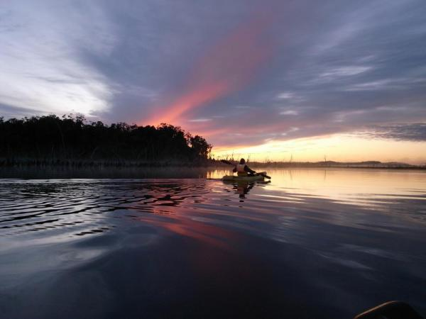 Kayak at dawn and through forest with a stay at Mirador de Chepu
