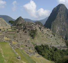 Initial glimpse of total Machu Picchu. Just like my dreams.